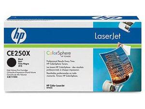 Toner HP 504A CE250X black