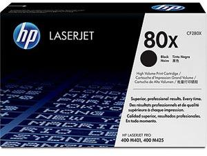 Toner HP 80X CF280XD black dual pack