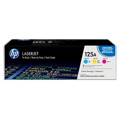 Toner HP 125A CF373AM C/M/Y 3pack