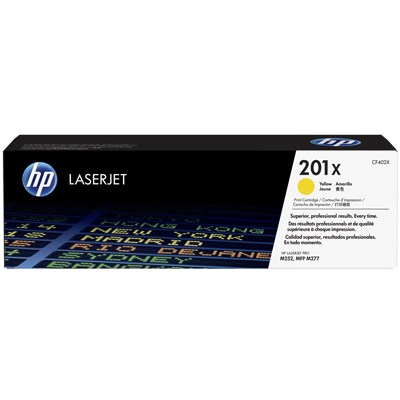 Toner HP 201X CF402X yellow