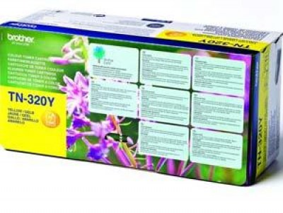 Toner Brother TN-320Y yellow