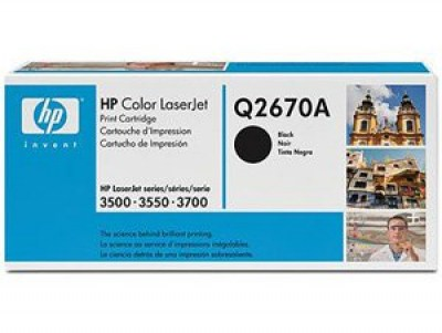Toner HP 308A Q2670A black