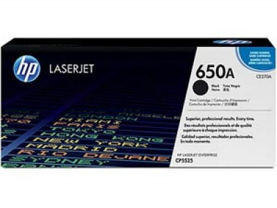 Toner HP 650A CE270A black