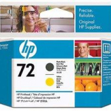 Printhead HP 72 C9384A matte black yellow